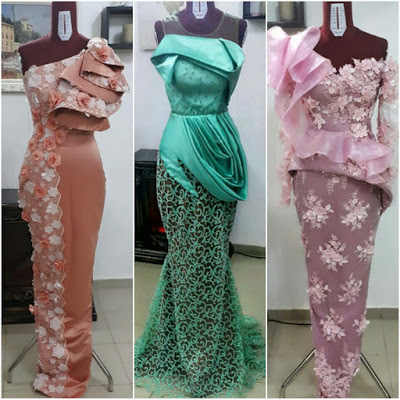 60 Latest Nigerian Aso Ebi Styles 2018 Wedding Styles