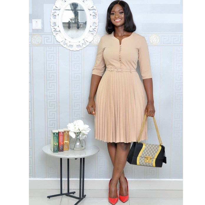 Looking For Corporate Gowns Styles For Work? See Trendy Inspirations
