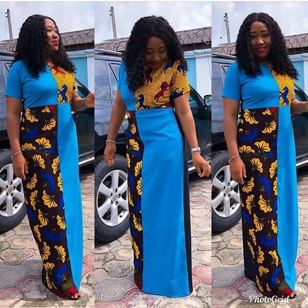 see these latest collection of ankara gown styles for cute ladies - Ankara Styles 2018 Ankara Skirt and Blouse Ankara Tops Gowns skirt blouse Trouser Style Ankara Aso ebi Tops Many More African Print Fashion 20 - SEE THESE LATEST COLLECTION OF ANKARA GOWN STYLES FOR CUTE LADIES