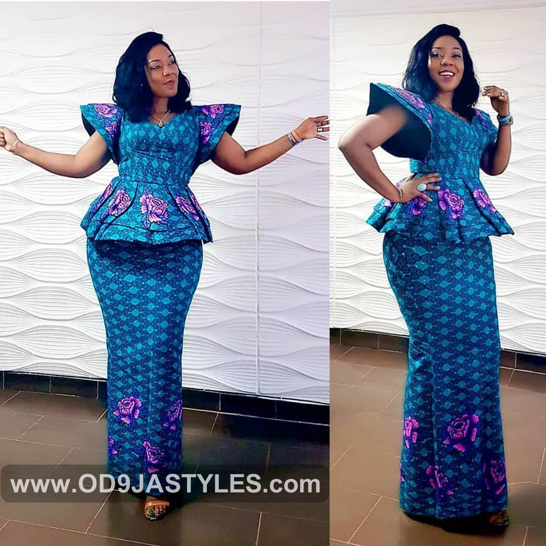 Celebrity Wedding Guest Outfits 2019: 35 STYLES OF AFRICAN PRINT DRESSES: NEW ANKARA STYLES GOWN