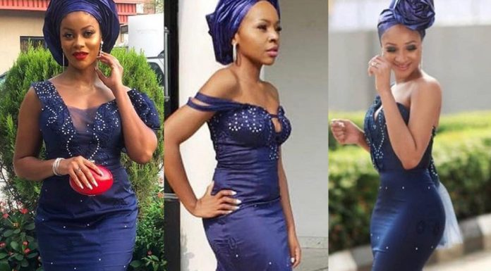 cdce4c0904126 Here Are Our Favourite Celeb Aso Ebi Styles From Linda Ejiofor's Wedding