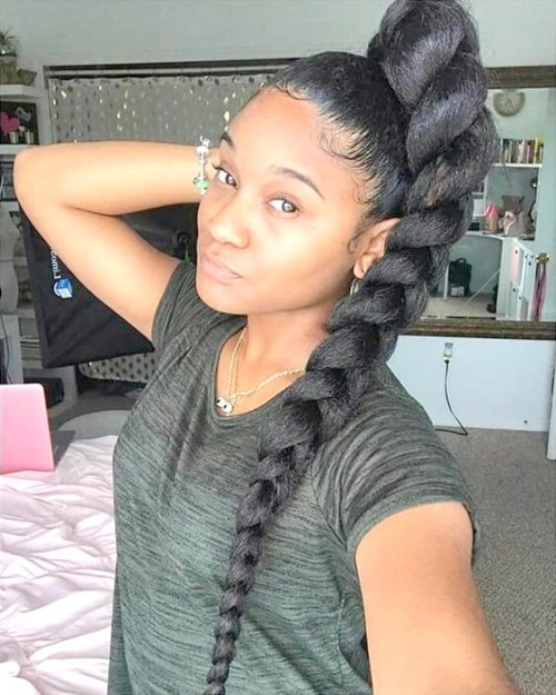 Single and Individual Braids You Must Love lovely 40 single or individual braids you must love - 1542975932 608 Lovely 40 Single or Individual Braids You Must Love - Lovely 40 Single or Individual Braids You Must Love