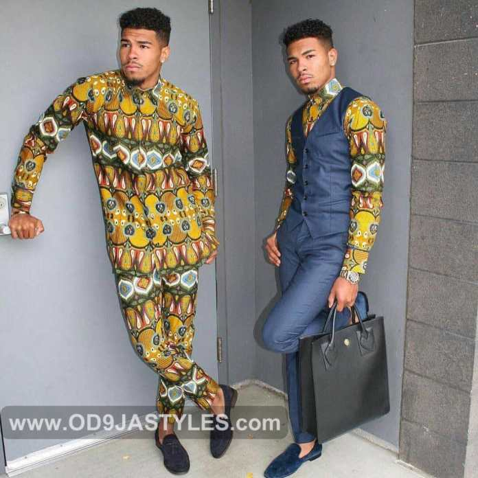 photos of latest ankara styles for men