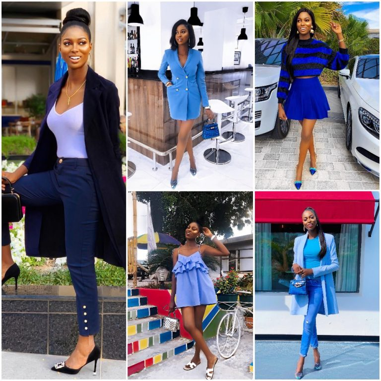 9a202b05a94c LADIES! Check Out These Beautiful 10 Outfits In Blue Color