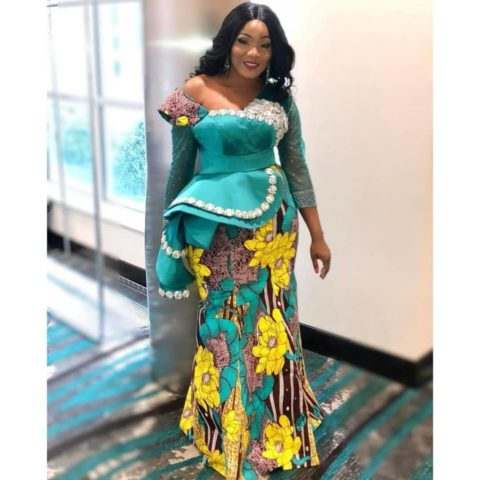 2019 African Print Dresses For Wedding Guest