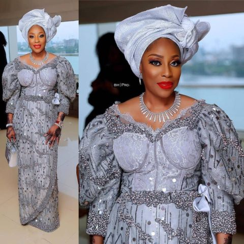 beautiful aso ebi style dresses for wedding guest - {Od9ja Styles} - Beautiful Aso Ebi Style Dresses for Wedding Guest