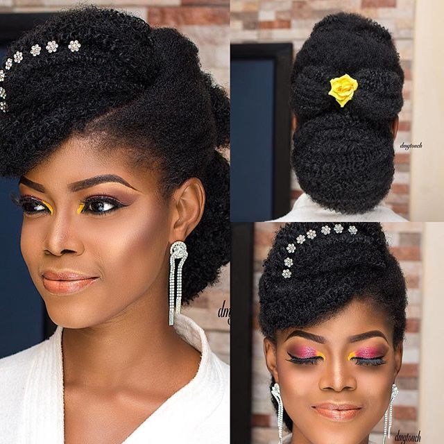 The Right Hairstyle For Your Wedding: Beautiful Hairstyles Perfect For The Conservative Natural