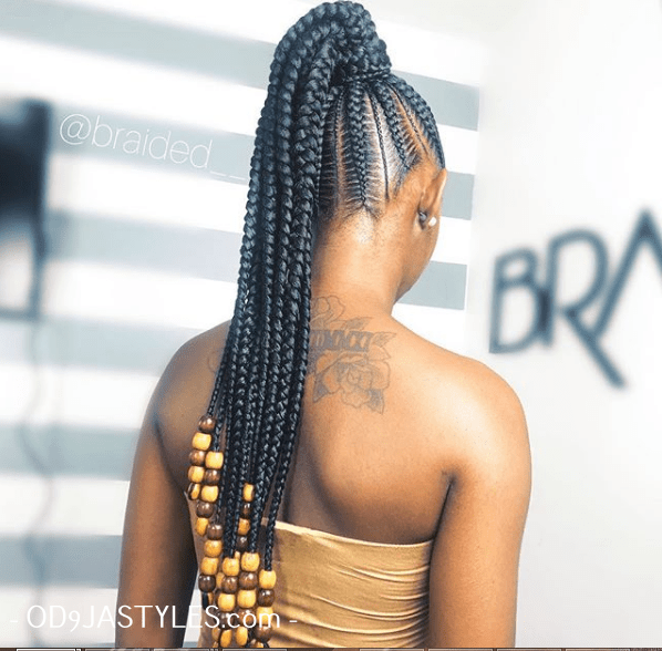 Black Braided Hairstyles 2020 for Classic Ladies