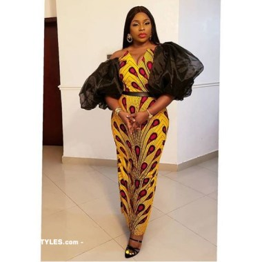 ankara latest styles ankara latest styles - Ankara Latest Styles 1 380x380 - African Fashion: 70+ Creative, Trendy and Stylish Ankara Latest Styles
