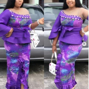 ankara latest styles ankara latest styles - Ankara Latest Styles 22 380x380 - African Fashion: 70+ Creative, Trendy and Stylish Ankara Latest Styles