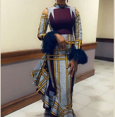 ankara latest styles ankara latest styles - Ankara Latest Styles 36 373x380 - African Fashion: 70+ Creative, Trendy and Stylish Ankara Latest Styles