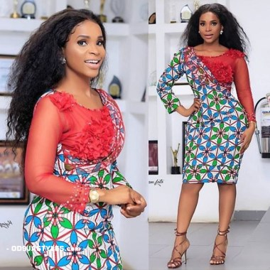 ankara latest styles ankara latest styles - Ankara Latest Styles 39 380x380 - African Fashion: 70+ Creative, Trendy and Stylish Ankara Latest Styles