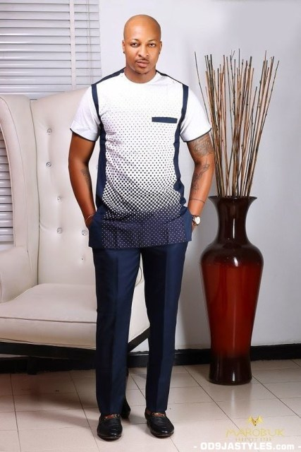 Native Casual Dress Outfits for Nigerian Men native casual dress outfits for nigerian men - Native Casual Dress Outfits for Nigerian Men 2 427x640 - Smart Native Casual Dress Outfits for Nigerian Men