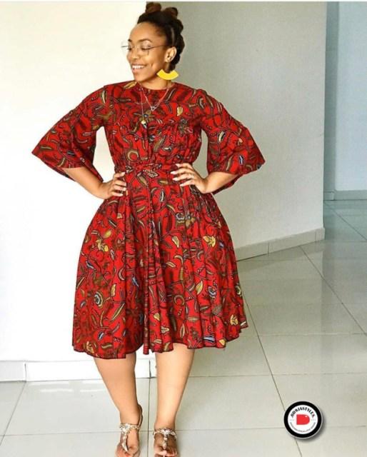 ankara dress styles 40 PHOTOS: Ankara Dress Styles – Stunning Ankara Gown Designs 2020