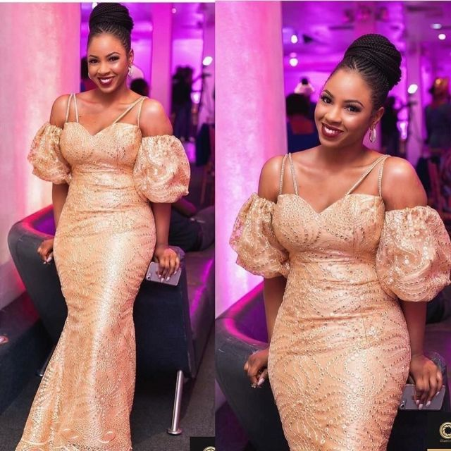 Gold Lace AsoEbi Dresses gold lace asoebi styles - e5a926fd7a791a8a8e53cbeff54b63af 640x640 - These 25 Gold Lace AsoEbi Dresses Are Nothing But Stunning and Gorgeous