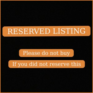 Reserved Listings