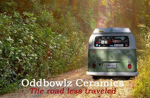 Oddbowlz Ceramics Branding Block