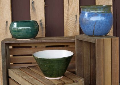 bowls, pots, and vases from Oddbowlz Ceramics