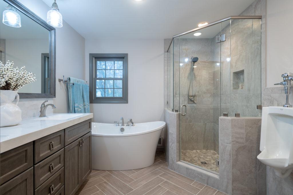 Okemos Bathroom Remodel - Odd Fellows Contracting on Bathroom Ideas Photo Gallery  id=79190