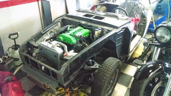 Datsun Roadster SR20 project