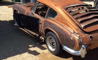 Triumph GT6 Was 70s Customization Victim
