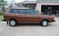 Manual 1979 Subaru Wagon in Beautiful Brown!