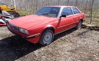 Rolling Cliché: Maserati Biturbo with Fire Damage