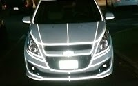 Tron/Transformers Chevrolet Spark (?)