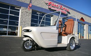 Cushman Trike with Honda Goldwing Power