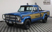 1978 Jeep J10 Honcho with Levi's Interior and Four-Speed