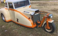 Gold Dust V8-Powered Trike