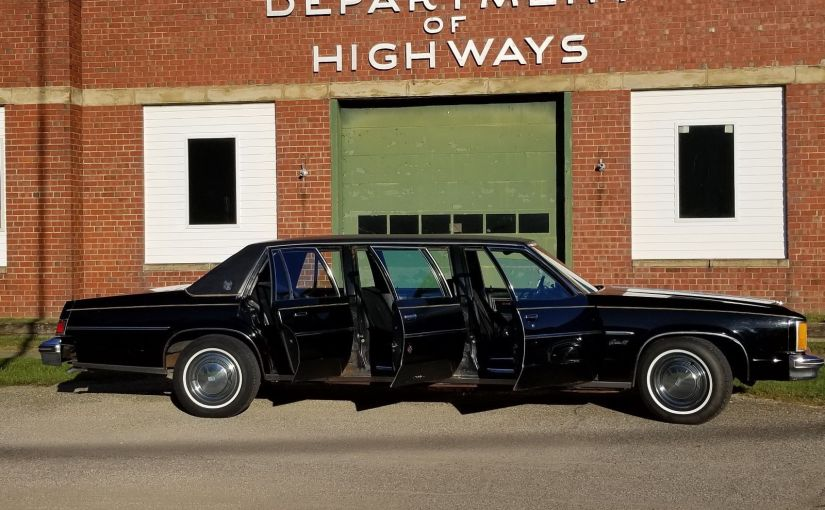 Six-Door 1979 Oldsmobile Eighty-Eight Armbruster Stageway Limo