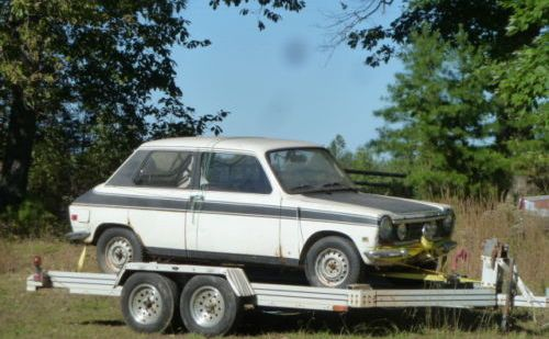 1969 Simca 1204 Factory Rally Car Project