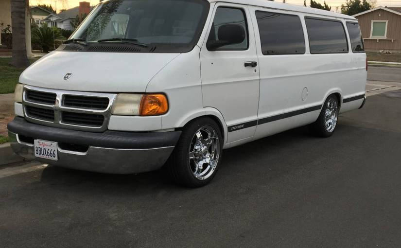 Straight Outta Salt Lake 15 Passenger Van With Air Suspension And Custom Rimz