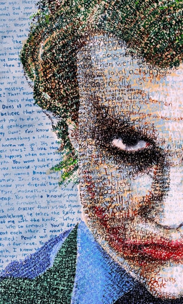 Artist Creates Detailed Portraits Entirely Out of ...