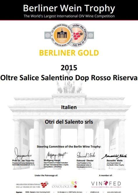 Berliner Gold Oltre