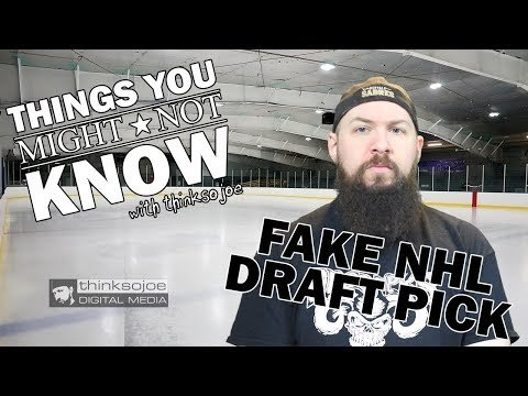 The Fake NHL Draft Pick – Things You Might Not Know