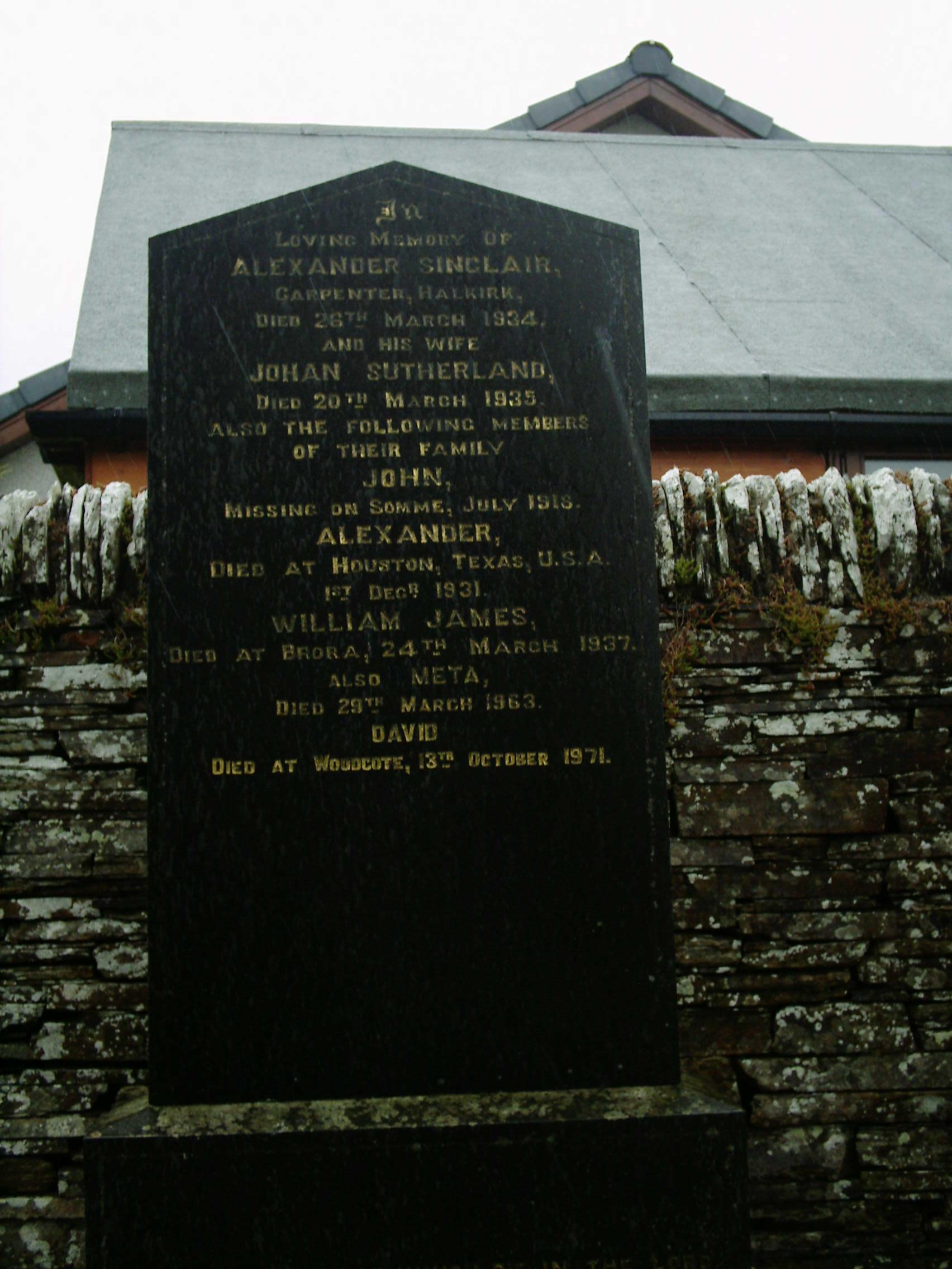 Halkirk Cemetery
