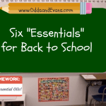 Six Essentials for Back to School