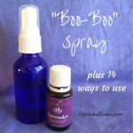 boo boo lavender spray essential oil homemade
