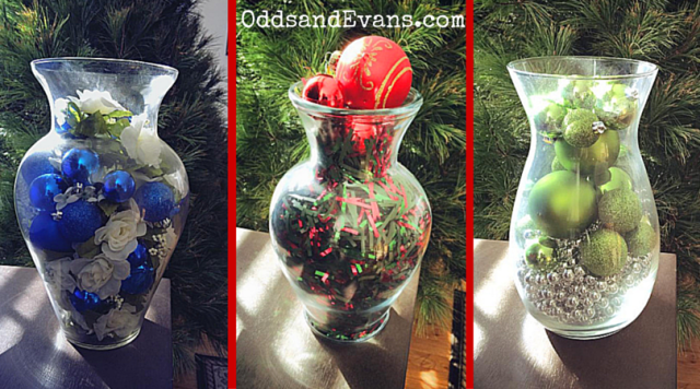 Christmas Vase Holiday Decorations DIY