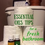 Fresh Clean Bathroom Essential Oils Tips |OddsandEvans.com