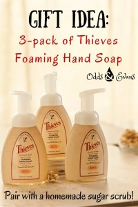 Gift Idea 3 pack of Thieves Foaming Hand Soap Young Living
