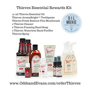 Thieves Starter Kit From Young Living Odds Amp Evans