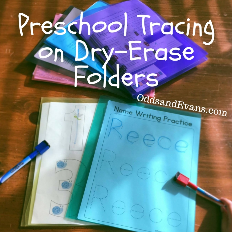 graphic relating to Printable Folders identify Preschool Tracing Thought upon Dry-Erase Folders - Likelihood Evans