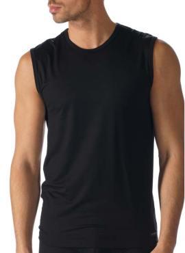 Model wearing MEY Network Muskelshirt TENCEL® for Men