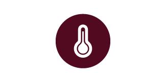 Temperatur ausgleichend