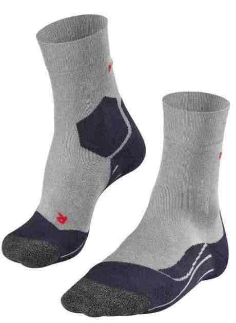 FALKE RU3 Lauf Socken Herren lightgrey 3406 mit Lyocell
