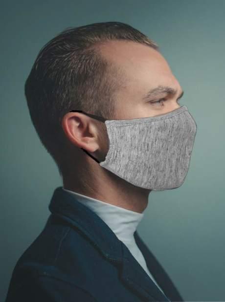 BLEED Mund Nase Schutz Maske MSN aus Modal