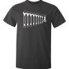 Skryvnycklar tryckta på en t-shirt av hög kvalitet i två olika färger, för mekanikern